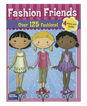 Fashion Friends Over 125 Fashions - English