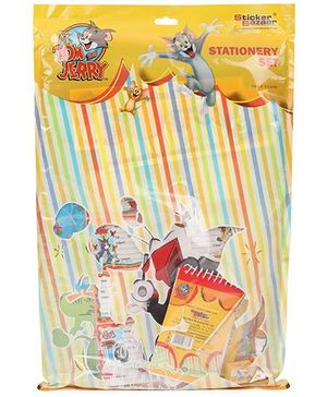 Sticker Bazaar Tom And Jerry Stationery Set - Pack Of 13