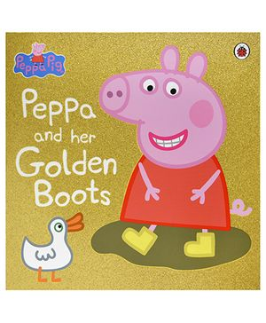 Peppa Pig Story Book Peppa's Golden Boots - English