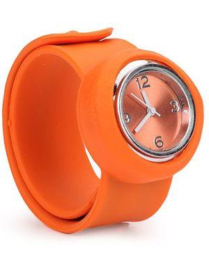 Analog Wrist Watch - Orange