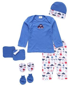 Mee Mee Baby Gift Set Blue - 7 Pieces