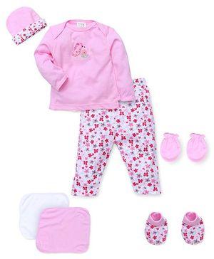 Mee Mee Baby Gift Set Pink - 7 Pieces