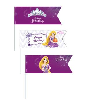 Disney Princess Rapunzel Picks A set of 20 - Purple