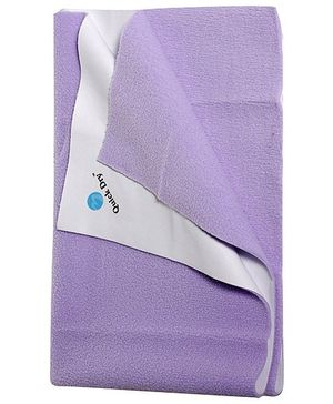 Quick Dry Bed Protector Mat Lilac - Medium