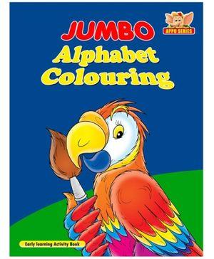 Jumbo Alphabet Colouring