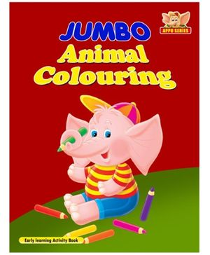 Jumbo Animals Colouring