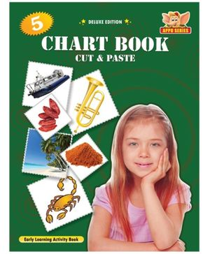 Chart Book 5 - Cut And Paste Book