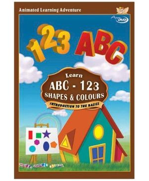 Appu Series Learn 123, Abc, Shapes And Colors