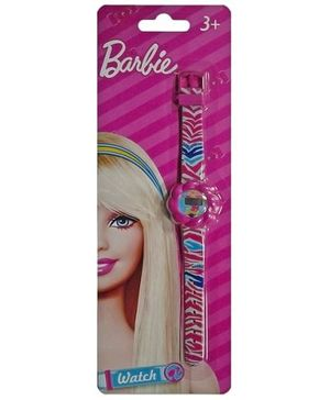 Barbie - Wrist Watch With Colorful Stripes