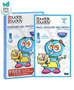 Buddsbuddy Cooling Gel Patch Pack Of 3 - White