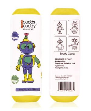 Buddsbuddy 39 Pieces First Aid Kit - Yellow