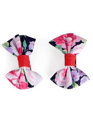 De Berry Beautiful Bow Hair Clip - Multicolour