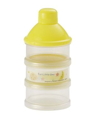 Richell Formula Container - Yellow