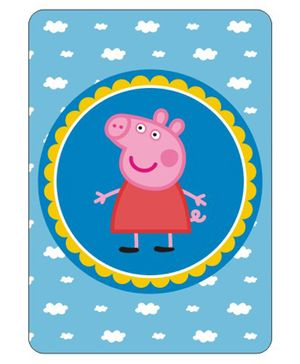 Peppa Pig Centerpieces Blue Pink - 27 cm