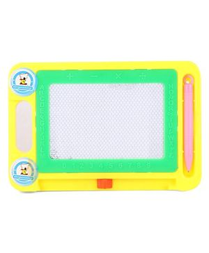 Drawing And Writing Board With Pen - Green Yellow