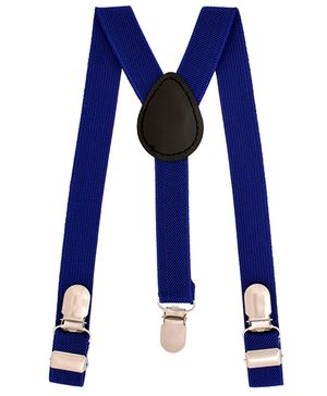 Miss Diva Stylish Suspender - Royal Blue