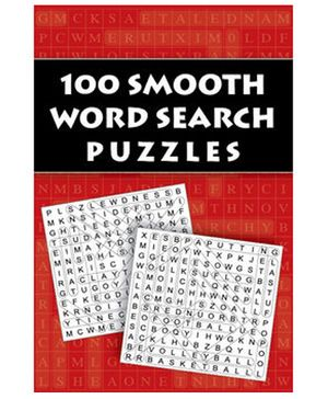 100 Smooth Word Search Puzzles - English