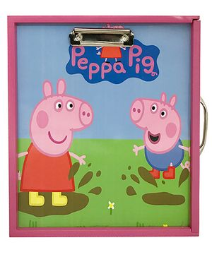 Li'll Pumpkins Mini Pig Art Box - Pink