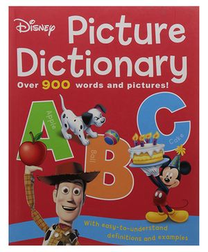Disney Picture Dictionary - English