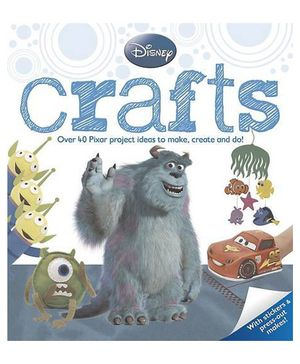Disney Pixar Crafts - English