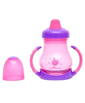 1st Step 3 Stage Feeding System Pink Purple - 180 ml