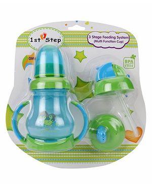 1st Step 3 Stage Feeding System - Blue Green