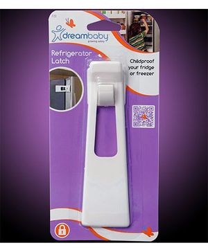 Dreambaby Refrigerator Latch - white