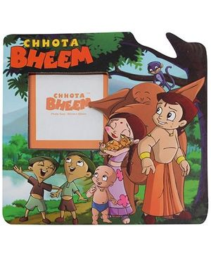 Chhota Bheem Green Meadows Green Magnetic Photo Frame
