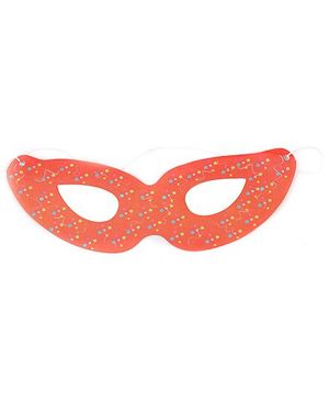 Karmallys Eye Mask Dotted Print - Orange