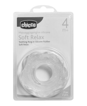 Chicco Teething Ring Soft Relax