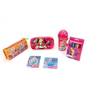 Disney Cinderella School Kit - Pink