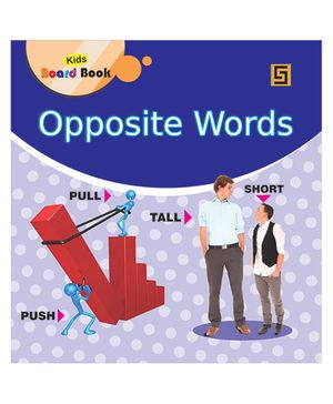 Small Board Book Opposite Words - English