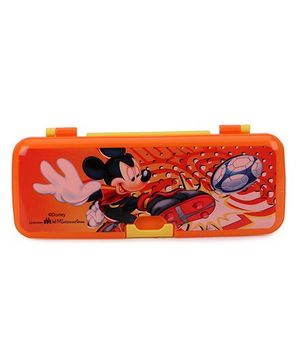 Disney Mickey Mouse And Friends Pencil Box - Orange