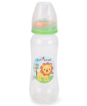 1st Step Feeding Bottle White Green - 250 ml