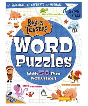 Brain Teasers Word Puzzles - English