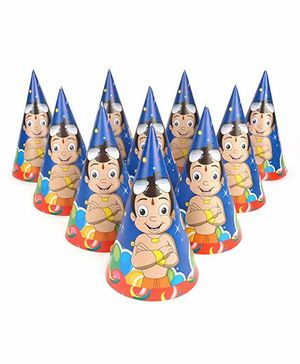 Chhota Bheem Paper Caps Pack Of 10 - Multicolor
