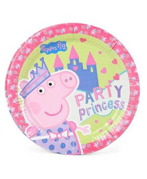 Peppa Pig Paper Plates - Multicolor