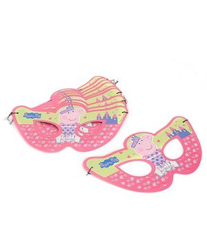 Peppa Pig Paper Eye Mask Pack Of 10 - Pink