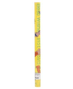 Chhota Bheem Gift Wrapping Paper - Yellow
