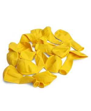 B Vishal Balloons Pack Of 15 - Yellow