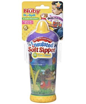 Nuby No Spill Insulated Soft Sipper 330 ml