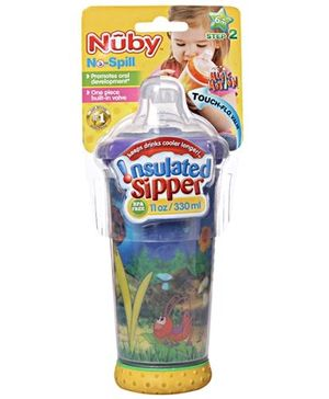 Nuby - No Spill Insulated Sipper