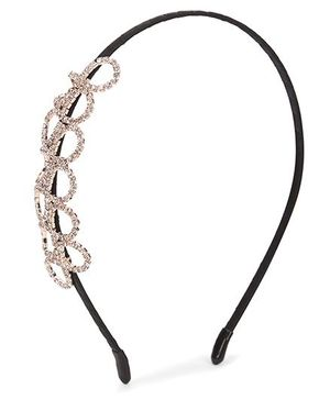 Bowtastic Diamond Hair Band - Black