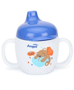 Angel Stony Drinking Cup Blue 200 ml