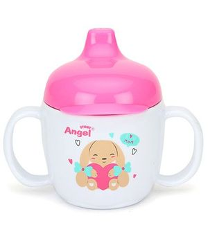Stony Angel Drinking Cup Pink 200 ml