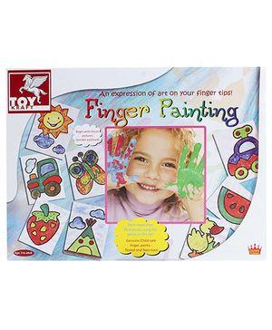 Toy Kraft Finger Painting