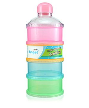 Angel Stony 4 Layer Milk Powder Container