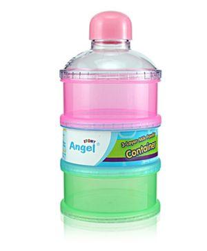 Angel Stony 3 Layer Milk Powder Container