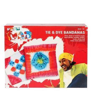 Toy Kraft - Tie and Dye Bandanas