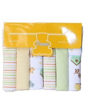 Owen Knit Wash Cloth - 6 Pieces